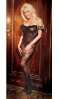 Bow Lace Bodystocking  EM-1607