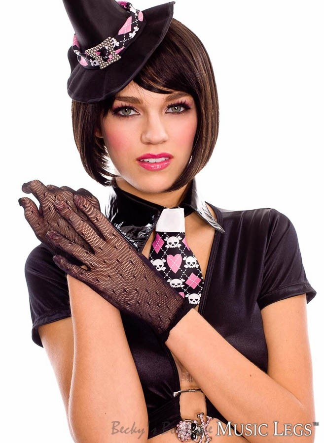 Gloves - Becky's Boutique - Mesh Gloves ML-405